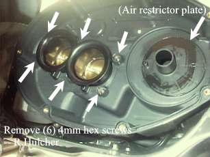 How to DeRestrict the RSV Mille, US Model with Illustrations